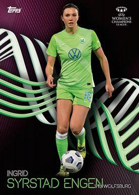 TOPPS On Demand UEFA Women's Champions League 2020/21 Knockout Set - Base Card