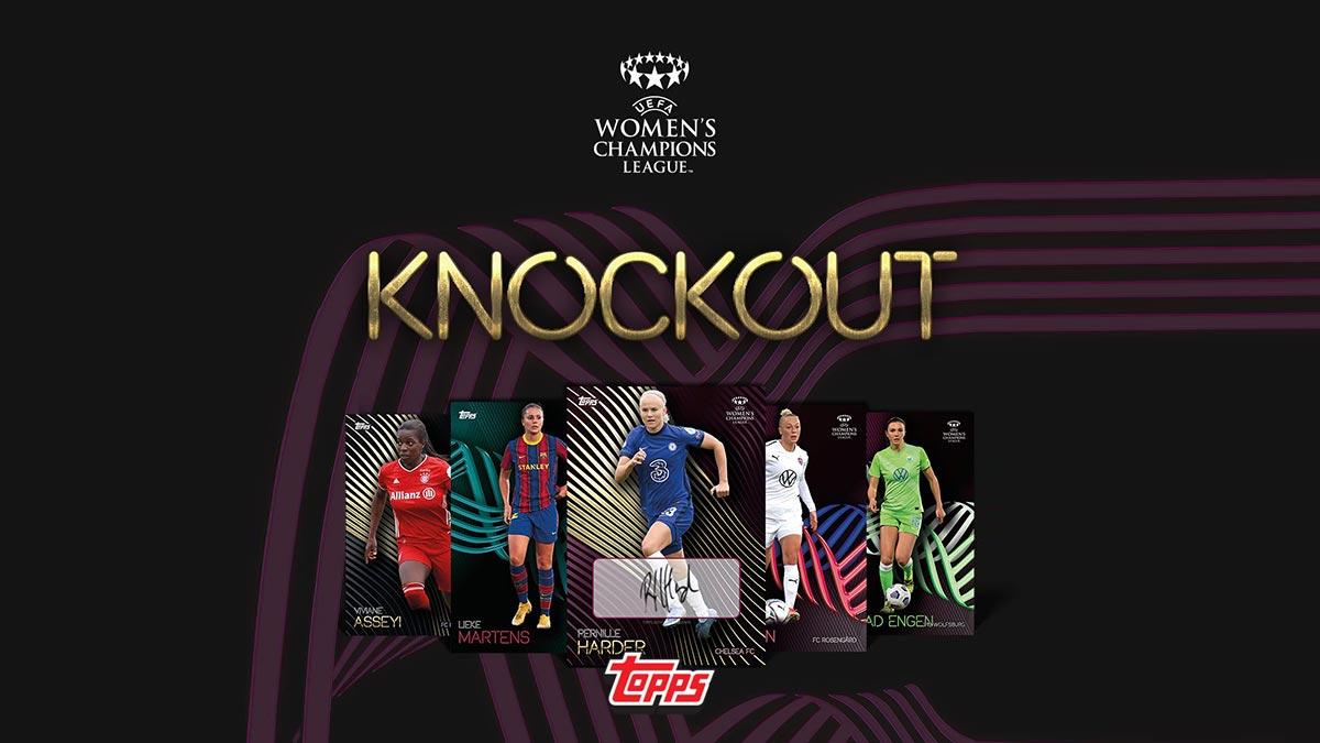 TOPPS On Demand UEFA Women's Champions League 2020/21 Knockout Set - Header