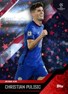 TOPPS What it takes - Weston McKennie Curated Set - Base Card