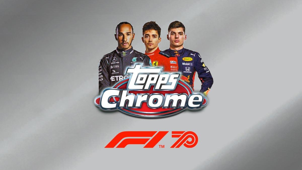 2020 TOPPS Chrome Formula 1 Racing Cards - Header