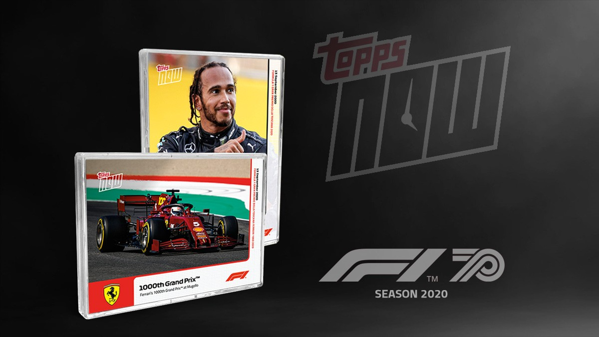 2020 Topps Now Formula 1 Racing Trading Cards Header