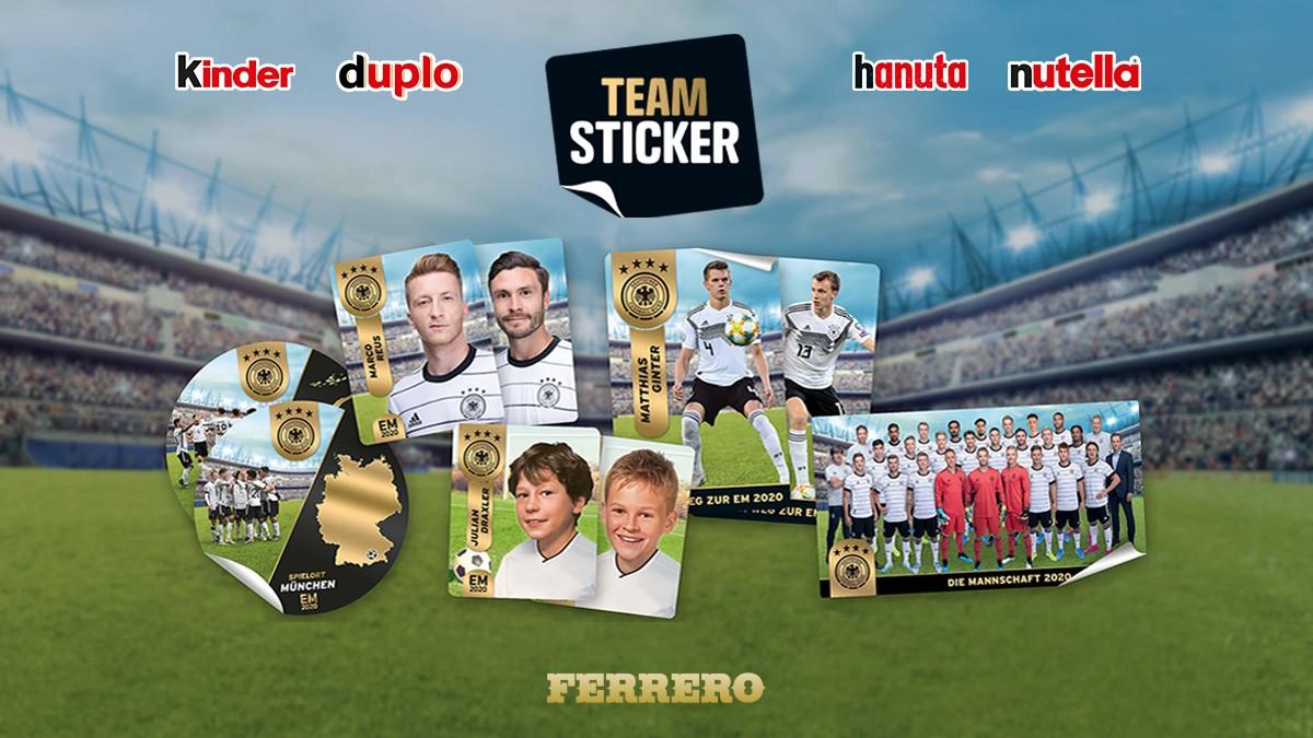 Ferrero DFB Teamsticker EM 2020 - Header