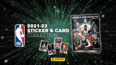 2021-22 PANINI NBA Sticker & Card Collection - Header