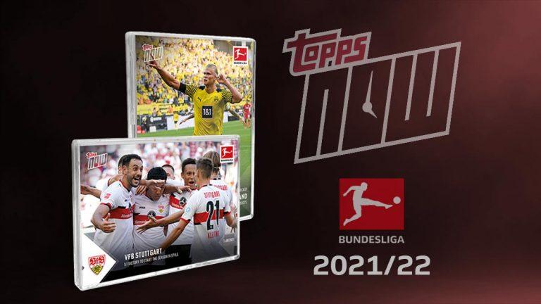 2021-22 TOPPS NOW Bundesliga Soccer Cards