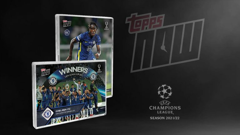 2021-22 TOPPS NOW UEFA Champions League Soccer Cards - Header