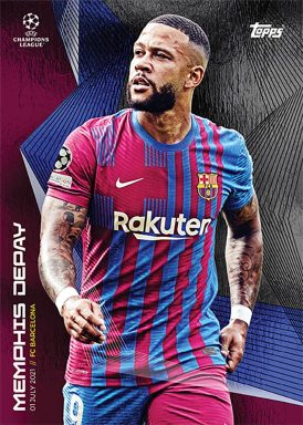 2021-22 TOPPS On Demand UEFA Champions League Summer Signings Set -Base Card