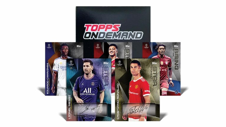 2021-22 TOPPS On Demand UEFA Champions League Summer Signings Set - Header