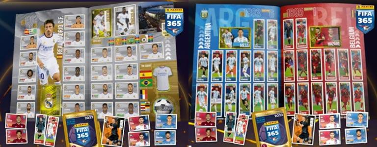 PANINI FIFA 365 2022 Sticker - Album Preview