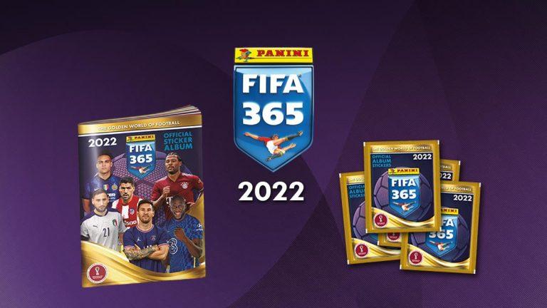 PANINI FIFA 365 2022 Sticker - Header
