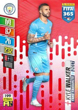 PANINI FIFA 365 Adrenalyn XL 2022 - Fans Favourite Card