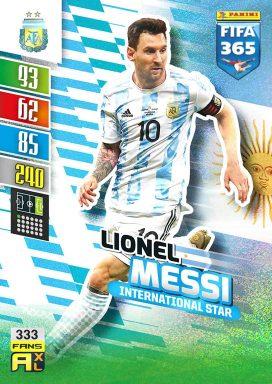 PANINI FIFA 365 Adrenalyn XL 2022 - International Star Card