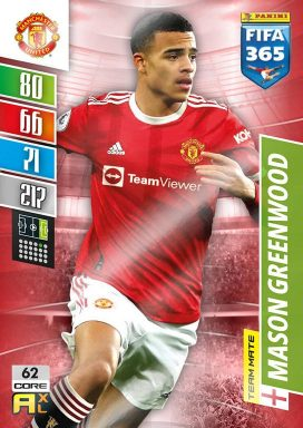 PANINI FIFA 365 Adrenalyn XL 2022 - Team Mate Card