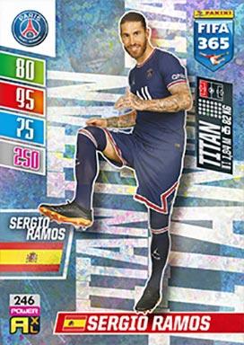 PANINI FIFA 365 Adrenalyn XL 2022 - Titan Card