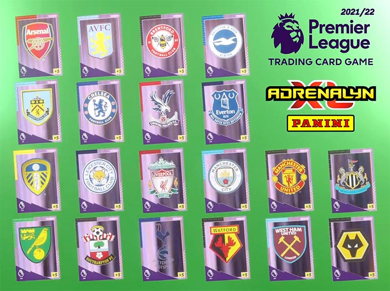 PANINI Premier League Adrenalyn XL 2021/22 - Badge Preview