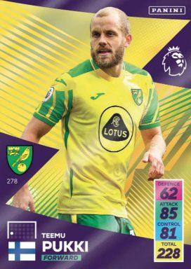PANINI Premier League Adrenalyn XL 2021/22 - Base Card