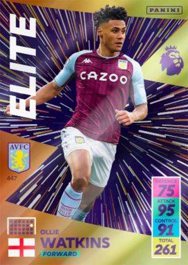 PANINI Premier League Adrenalyn XL 2021/22 - Elite card