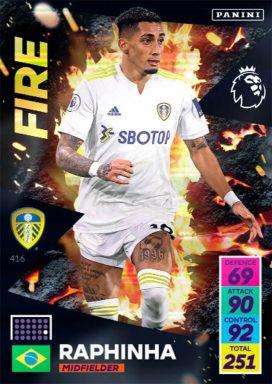 PANINI Premier League Adrenalyn XL 2021/22 - Fire card
