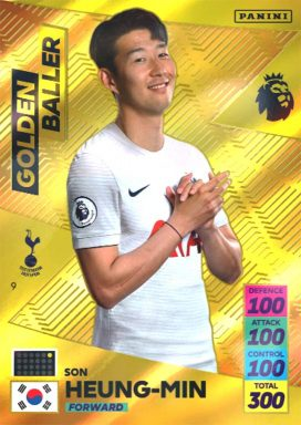 PANINI Premier League Adrenalyn XL 2021/22 - Golden Baller card