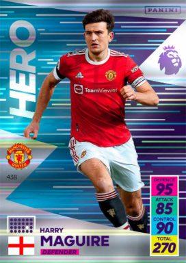 PANINI Premier League Adrenalyn XL 2021/22 - Hero card