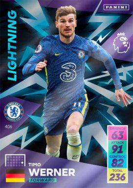PANINI Premier League Adrenalyn XL 2021/22 - Lightning card