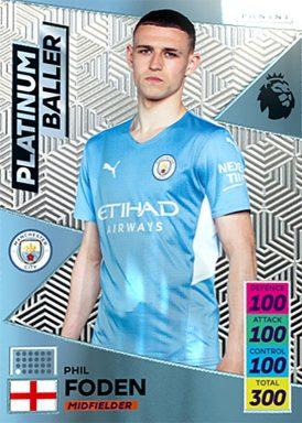 PANINI Premier League Adrenalyn XL 2021/22 - Platinum Baller card