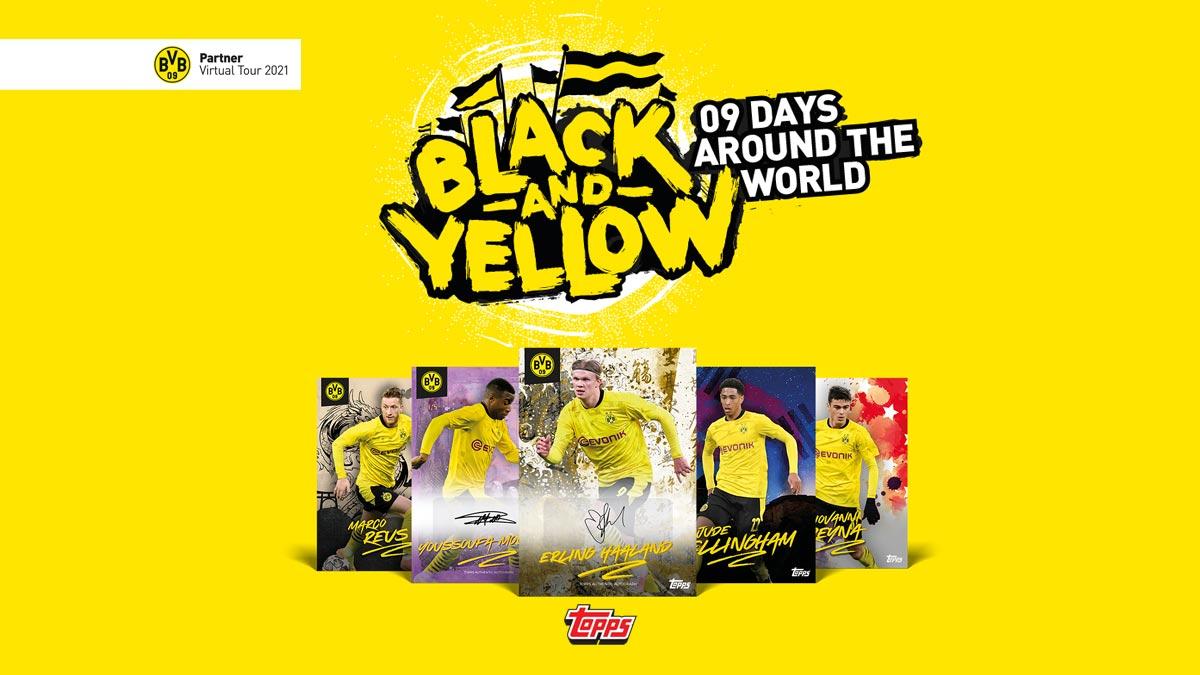 TOPPS On Demand Black & Yellow - 09 Days around the world - Header