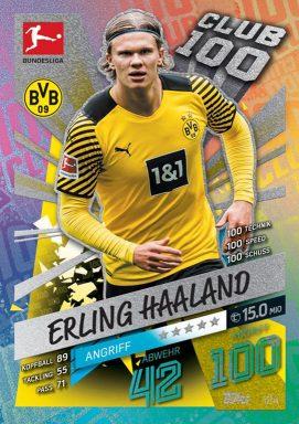 Topps Bundesliga Match Attax 2021/22 Trading Card Game - Club 100