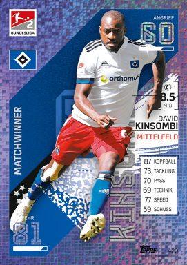 Topps Bundesliga Match Attax 2021/22 Trading Card Game - Matchwinner 2. Bundesliga