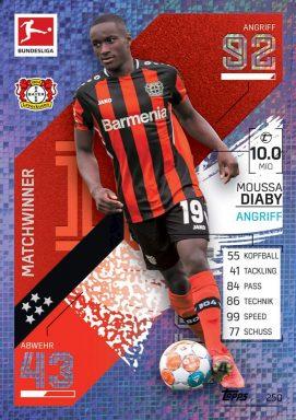 Topps Bundesliga Match Attax 2021/22 Trading Card Game - Matchwinner 1. Bundesliga