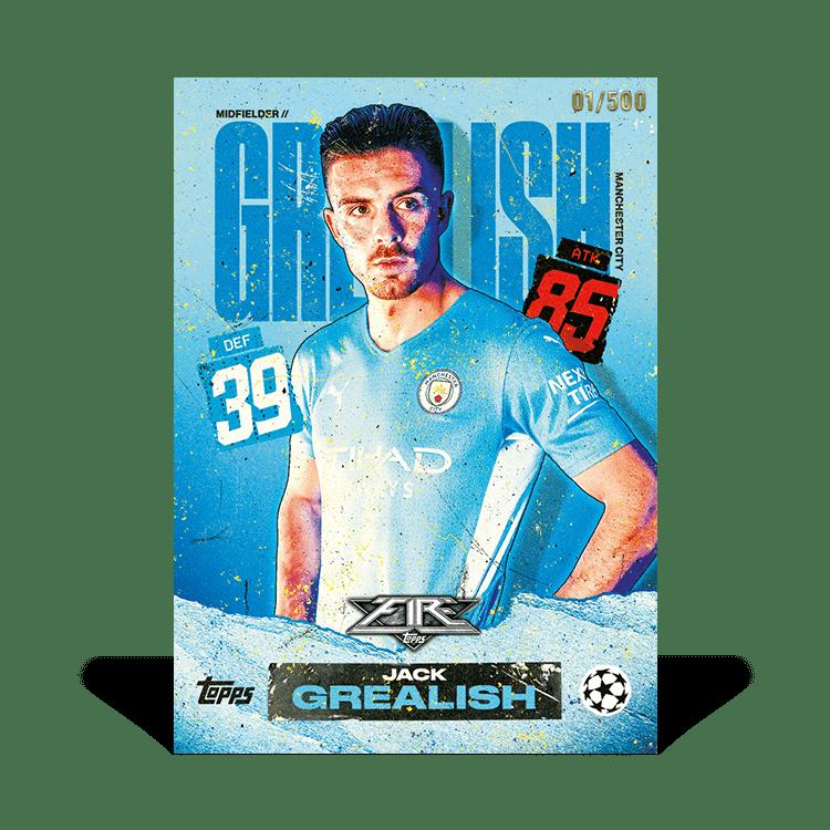TOPPS Match Attax Fire UEFA Champions League 21/22 - Jack Grealish