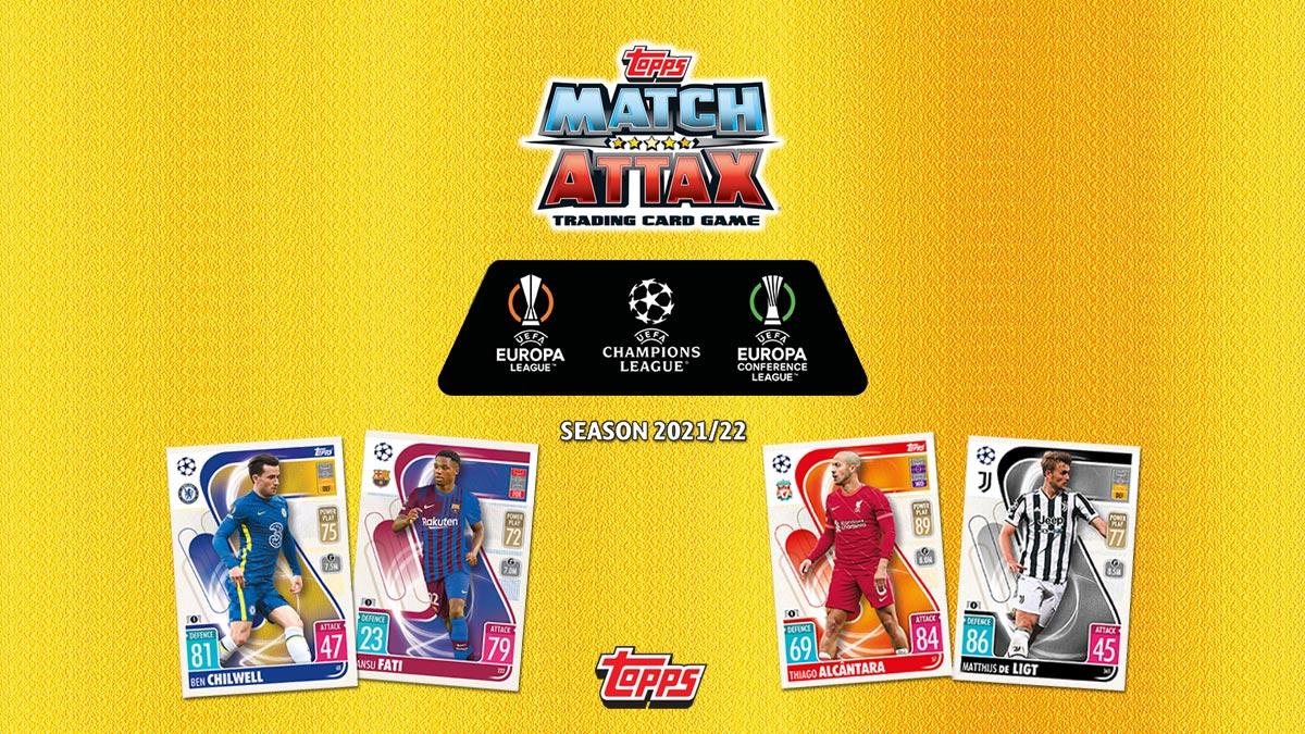 TOPPS UEFA Champions League Match Attax 2021/22 - Header