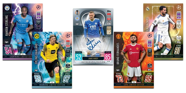 TOPPS UEFA Champions League Match Attax 2021/22 - Preview Limiteds