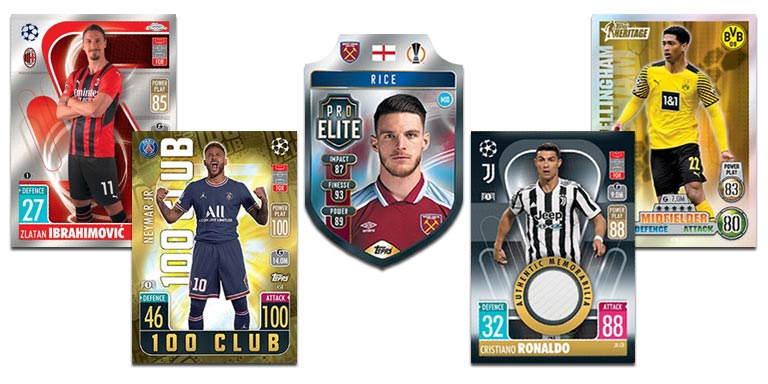 TOPPS UEFA Champions League Match Attax 2021/22 - Preview Cards