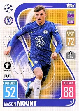 TOPPS UEFA Champions League Match Attax 2021/22 - 1st Edition Mason Mount