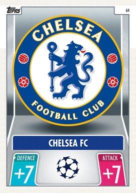 TOPPS UEFA Champions League Match Attax 2021/22 - Club Badge Card