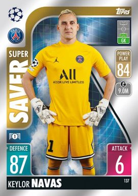 TOPPS UEFA Champions League Match Attax 2021/22 - Super Saver Card