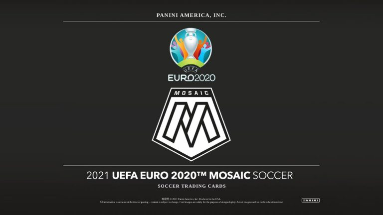 2021 PANINI Mosaic UEFA EURO 2020 Soccer Cards