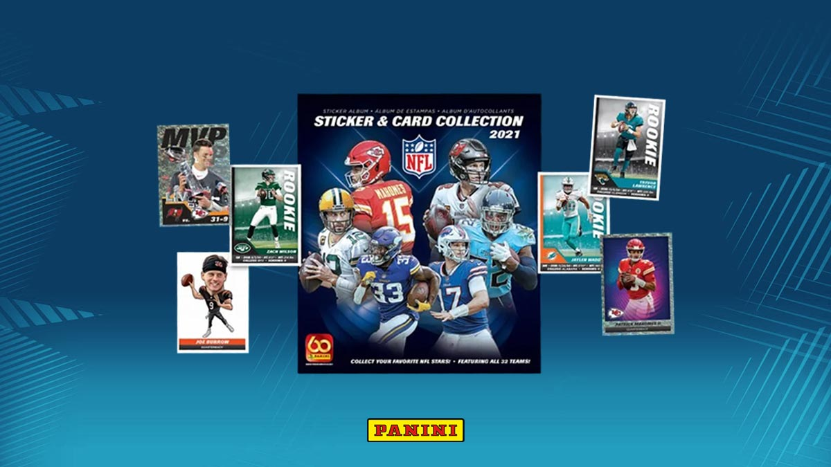 2021 PANINI NFL Sticker & Card Collection - Header