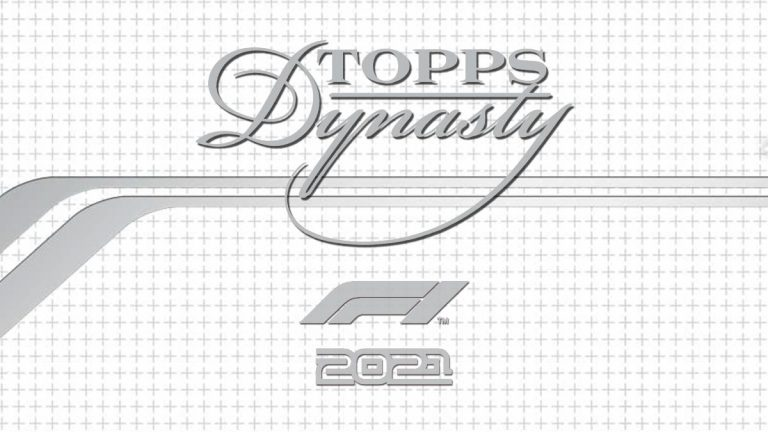 2021 TOPPS Dynasty Formula 1 Racing Cards