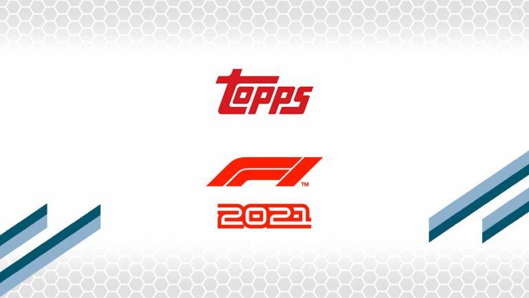 2021 TOPPS Formula 1 Racing - Header