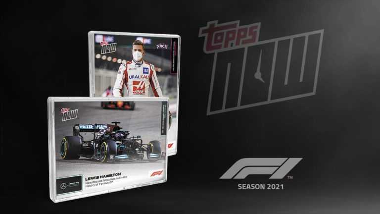 2021 TOPPS NOW Formula 1 Racing Cards