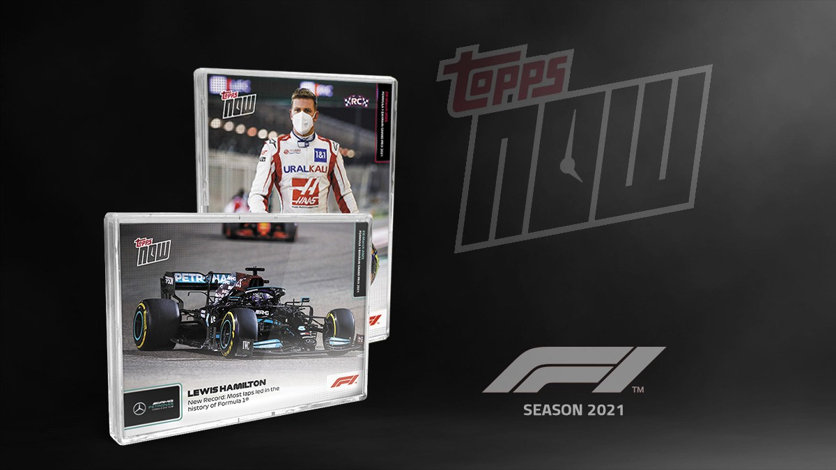 2021 Topps Now Formula 1 Racing Trading Cards Header