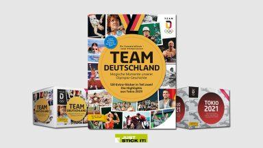 Juststickit Team Deutschland – Tokio 2021 Sticker
