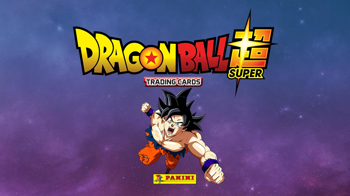 PANINI Dragon Ball Super Trading Cards - Header