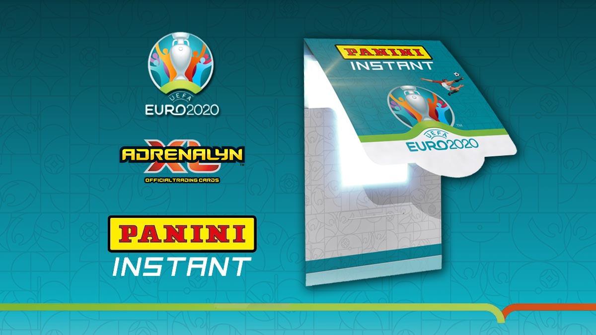 PANINI Instant UEFA Euro 2020 Soccer Cards - Header