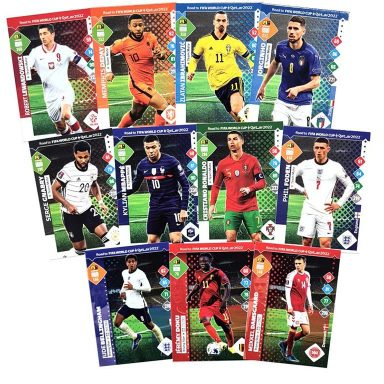 PANINI Road to FIFA World Cup Qatar 2022 Adrenalyn XL Trading Card Game - Base Cards Preview
