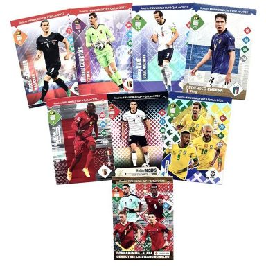 PANINI Road to FIFA World Cup Qatar 2022 Adrenalyn XL Trading Card Game - Special Cards Preview