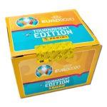 UEFA EURO 2020 Tournament Edition Sticker - Display Box 100 Orange