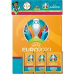UEFA EURO 2020 Tournament Edition Sticker - Starter-Pack Hardcover Orange