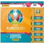 UEFA EURO 2020 Tournament Edition Sticker - Starter-Pack Softcover XL Orange